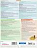 Quick Study QuickStudy Nursing Pharmacology Laminated Study Guide BarCharts Publishing Inc Academic Back Image