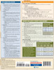 QuickStudy Quick Study Nutrition Laminated Study Guide BarCharts Publishing Health Reference Guide Back Image