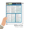 Quick Study QuickStudy 1001 Words For Success Laminated Reference Guide BarCharts Publishing Guide Size