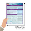 Quick Study QuickStudy HTML5 Laminated Study Guide BarCharts Publishing Computer Reference Guide Size
