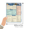 Quick Study QuickStudy Unix Laminated Reference Guide BarCharts Publishing Computer Productivity Outline Guide Size