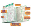 Quick Study QuickStudy Pre-Algebra Laminated Study Guide BarCharts Publishing Pre-Algebra Reference Guide Benefits