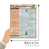 Quick Study QuickStudy Black History: Pre-Civil War Laminated Study Guide BarCharts Publishing Inc Guide Size
