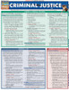 Quick Study QuickStudy Criminal Justice Laminated Reference Guide BarCharts Publishing Study Guide Cover Image