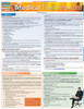 Quick Study QuickStudy Medical Transcription Laminated Reference Guide BarCharts Publishing Medical Guide Cover Image