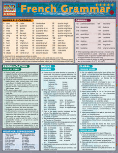 QuickStudy | French Grammar Laminated Study Guide