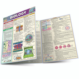 QuickStudy | Biology Laminated Study Guide