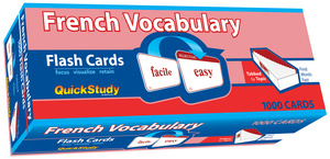 QuickStudy | French Vocabulary Flash Cards