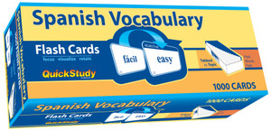 QuickStudy | Spanish Vocabulary Flash Cards