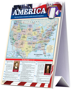QuickStudy | United States of America Easel