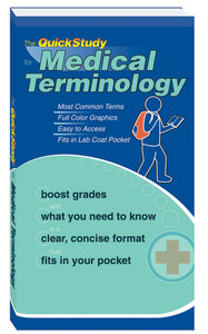 QuickStudy | Medical Terminology Study Book