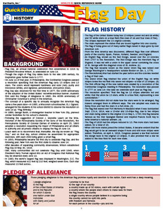 QuickStudy | Flag Day Digital Reference Guide