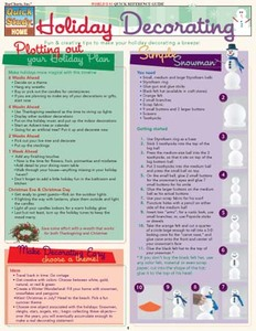 QuickStudy   Holiday Decorating Digital Reference Guide