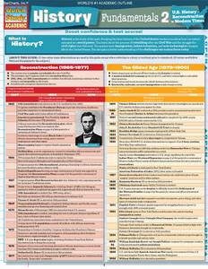 QuickStudy | History Fundamentals 2 Digital Study Guide