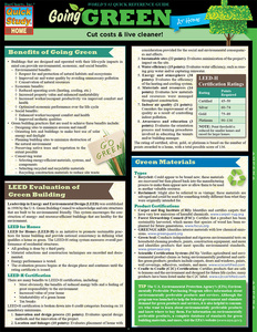 QuickStudy | Going Green At Home Digital Reference Guide