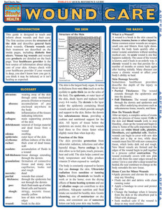 QuickStudy | Wound Care Laminated Reference Guide