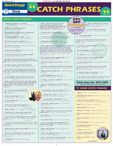 QuickStudy | Catch Phrases Digital Reference Guide