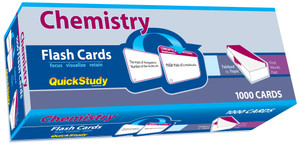 QuickStudy | Chemistry Flash Cards