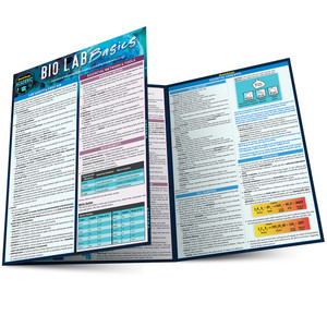 QuickStudy   Bio Lab Basics Laminated Study Guide
