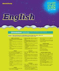 QuickStudy | English Study Folder