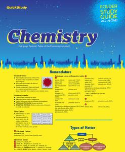 QuickStudy | Chemistry Study Folder