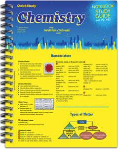 QuickStudy | Chemistry Spiral Notebook