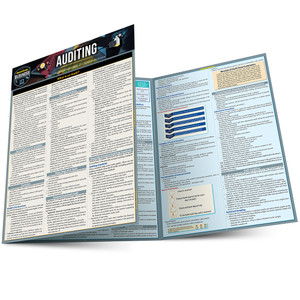 Quick Study QuickStudy Auditing Laminated Reference Guide BarCharts Publishing Business Reference Guide Main Image