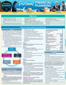 QuickStudy | Personal Financial Planning Laminated Reference Guide