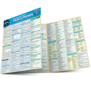 QuickStudy | Physician Assistant PANCE/PANRE Laminated Reference Guide