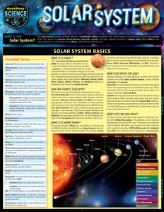 QuickStudy | Solar System Laminated Reference Guide