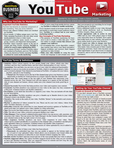 QuickStudy | YouTube Marketing Laminated Reference Guide