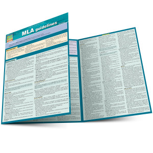 QuickStudy | MLA Guidelines Laminated Study Guide