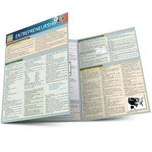 Quick Study QuickStudy Entrepreneurship Laminated Study Guide BarCharts Publishing Business Guide Main Image