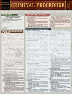 QuickStudy | Criminal Procedure Laminated Study Guide