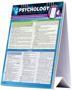 QuickStudy Psychology Easel