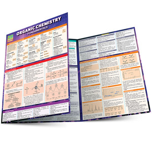 QuickStudy | Organic Chemistry Fundamentals Laminated Study Guide