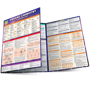 Quick Study QuickStudy Organic Chemistry Fundamentals Laminated Study Guide BarCharts Publishing Main Image