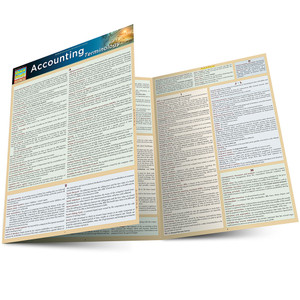 QuickStudy | Accounting Terminology Laminated Study Guide