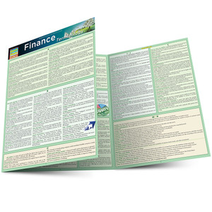 QuickStudy | Finance Terminology Laminated Study Guide