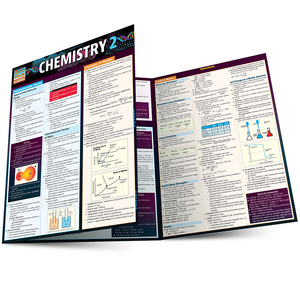Quick Study QuickStudy Chemistry 2 Laminated Study Guide BarCharts Publishing Science Reference Main Image