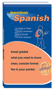 QuickStudy for Spanish Study Book