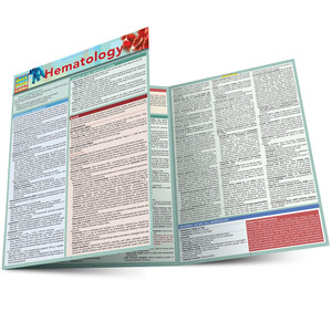 QuickStudy | Hematology Laminated Study Guide