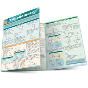 QuickStudy | Trigonometry Laminated Study Guide
