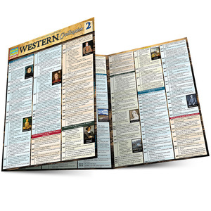 Quick Study QuickStudy Western Civilization 2 Laminated Study Guide BarCharts Publishing Inc Guide Main Image