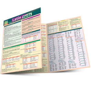 QuickStudy | Latin Verbs Laminated Study Guide