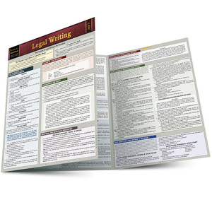 QuickStudy | Legal Writing Laminated Study Guide