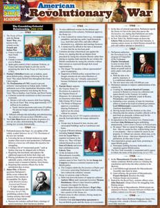 QuickStudy | American Revolutionary War Laminated Study Guide