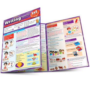 QuickStudy | Writing: Common Core - 1st Grade Laminated Study Guide