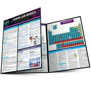 QuickStudy | Chem Lab Basics Laminated Study Guide
