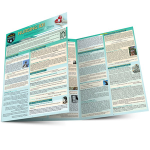 QuickStudy   Nursing 101: Inspirational Quotes & Stories Laminated Reference Guide